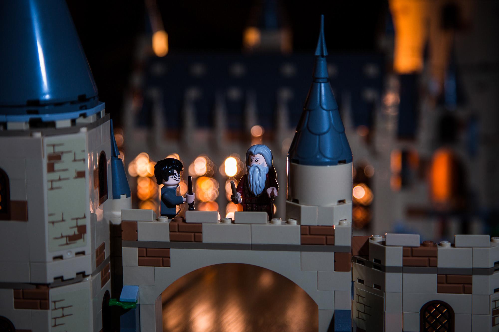Harry und Dumbledore