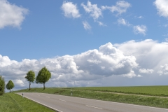 Leere Landschaft