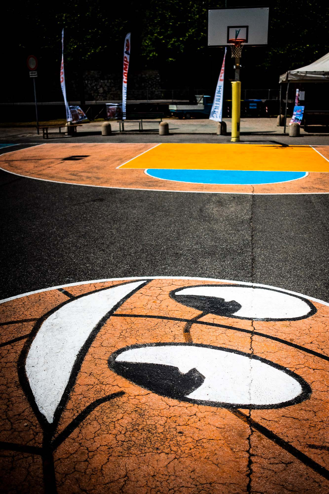 UnclePete / Basketballfeld in Umbrien