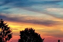 Moni / Sonnenuntergang