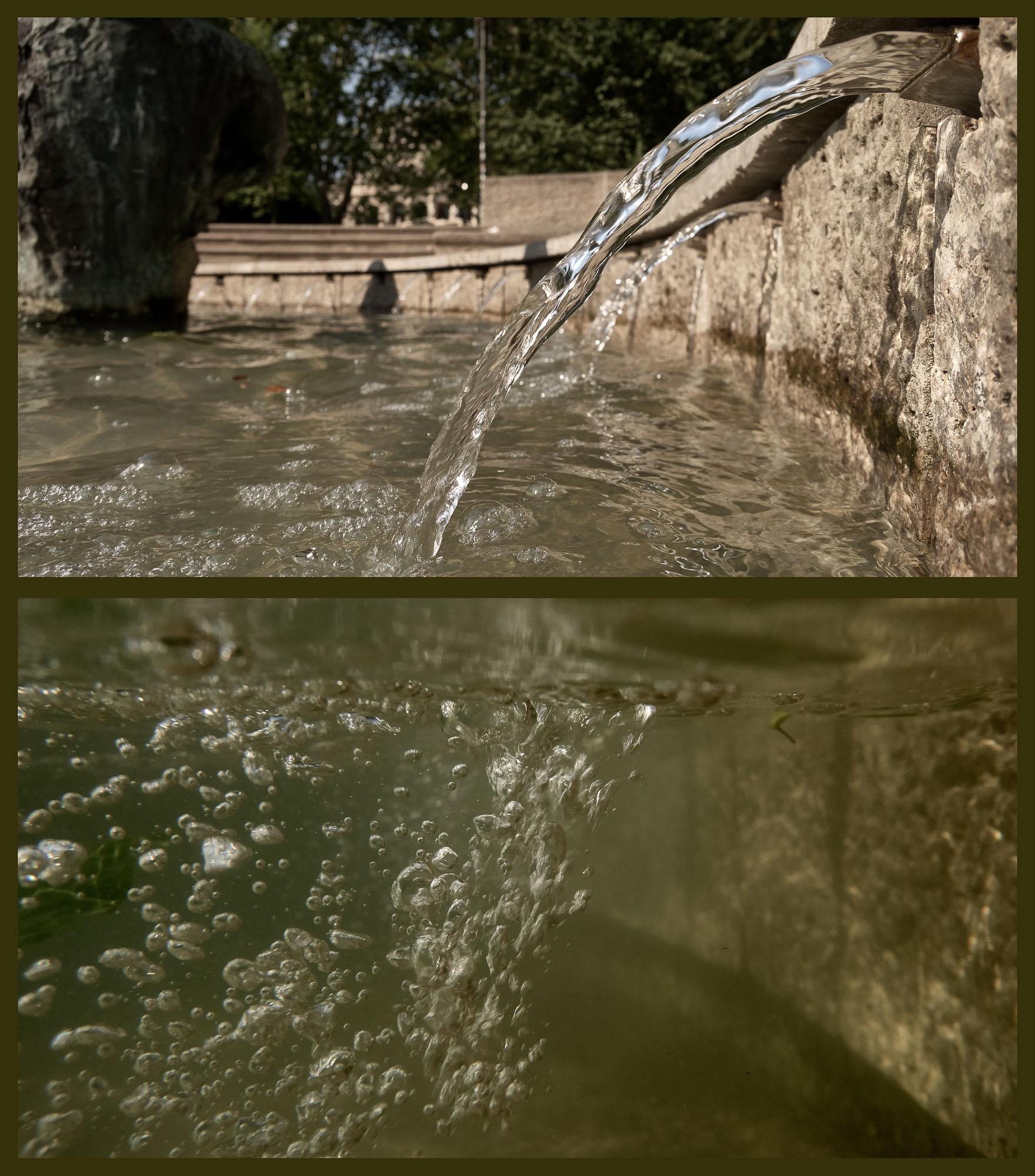 expresskasse / Wasserspiele - Marshall-Brunnen