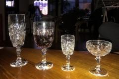Lumivers / Mutters Gläser, gerade geerbt. Welches Glas wofür??
