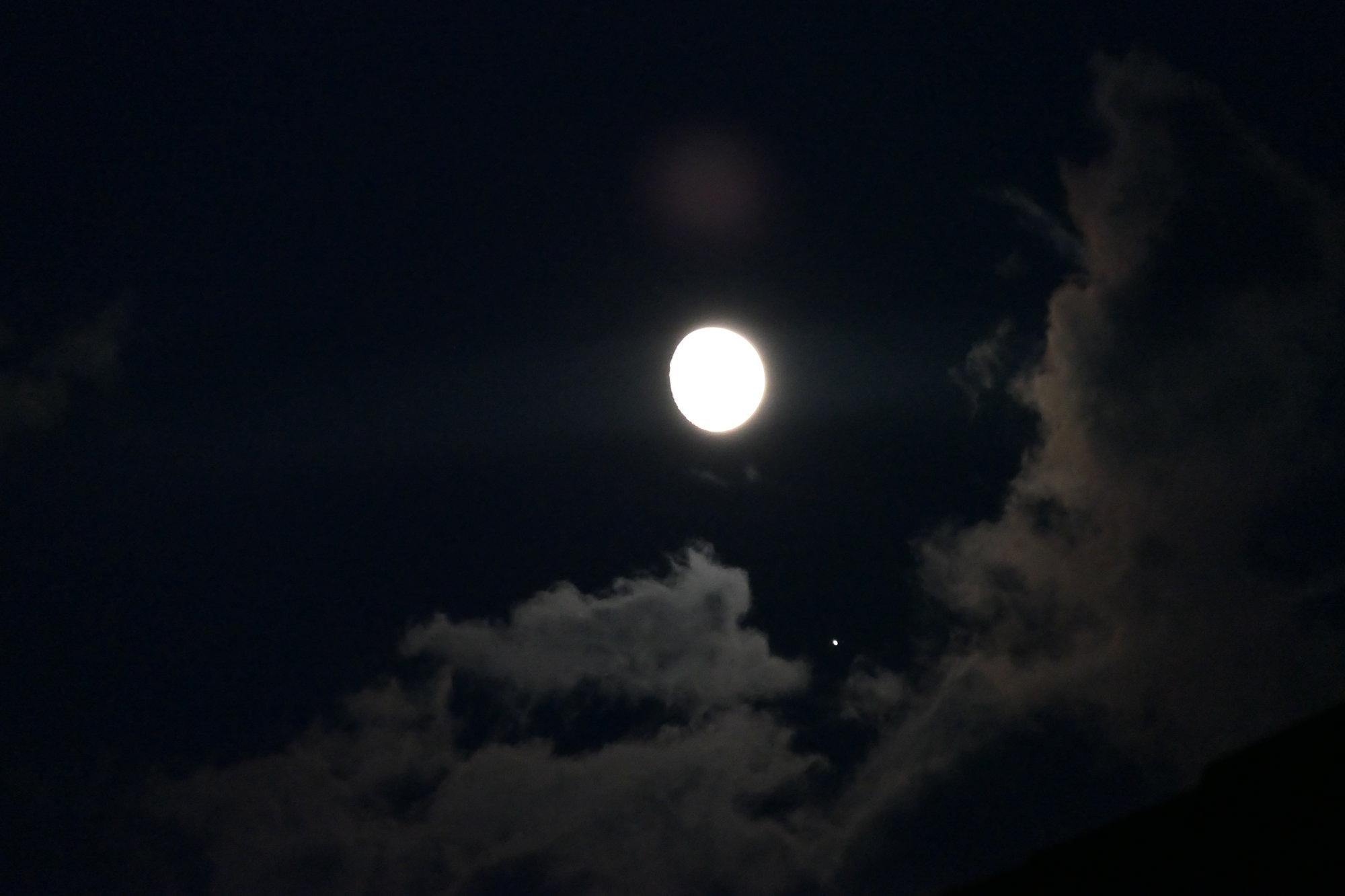 Silke - Mond und Jupiter