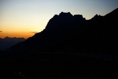 ylz / Sonnenuntergang auf dem Klausenpass