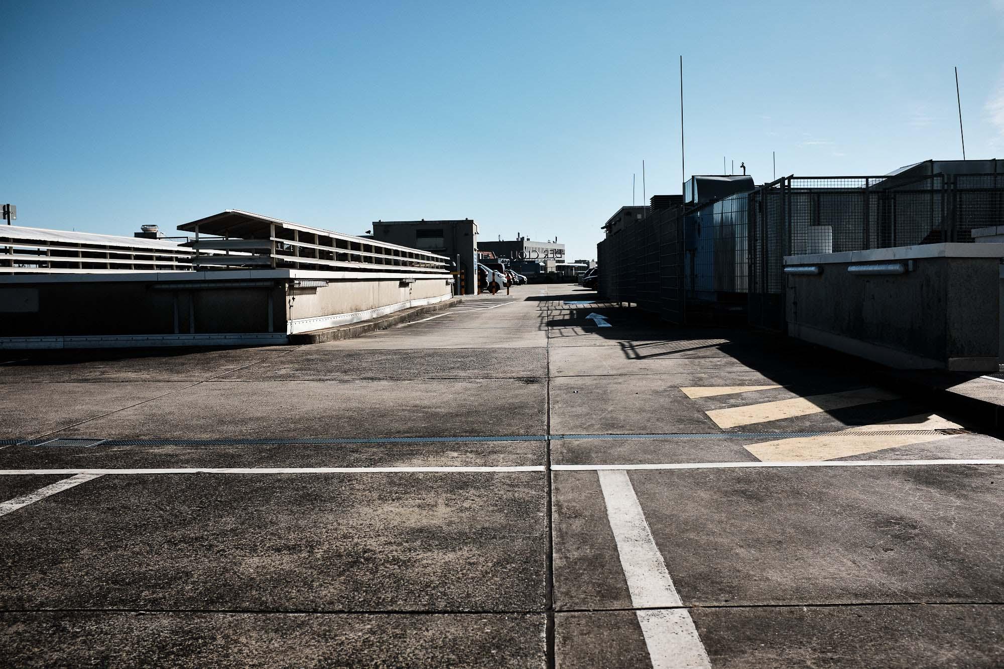 Photoauge / Parkplatz