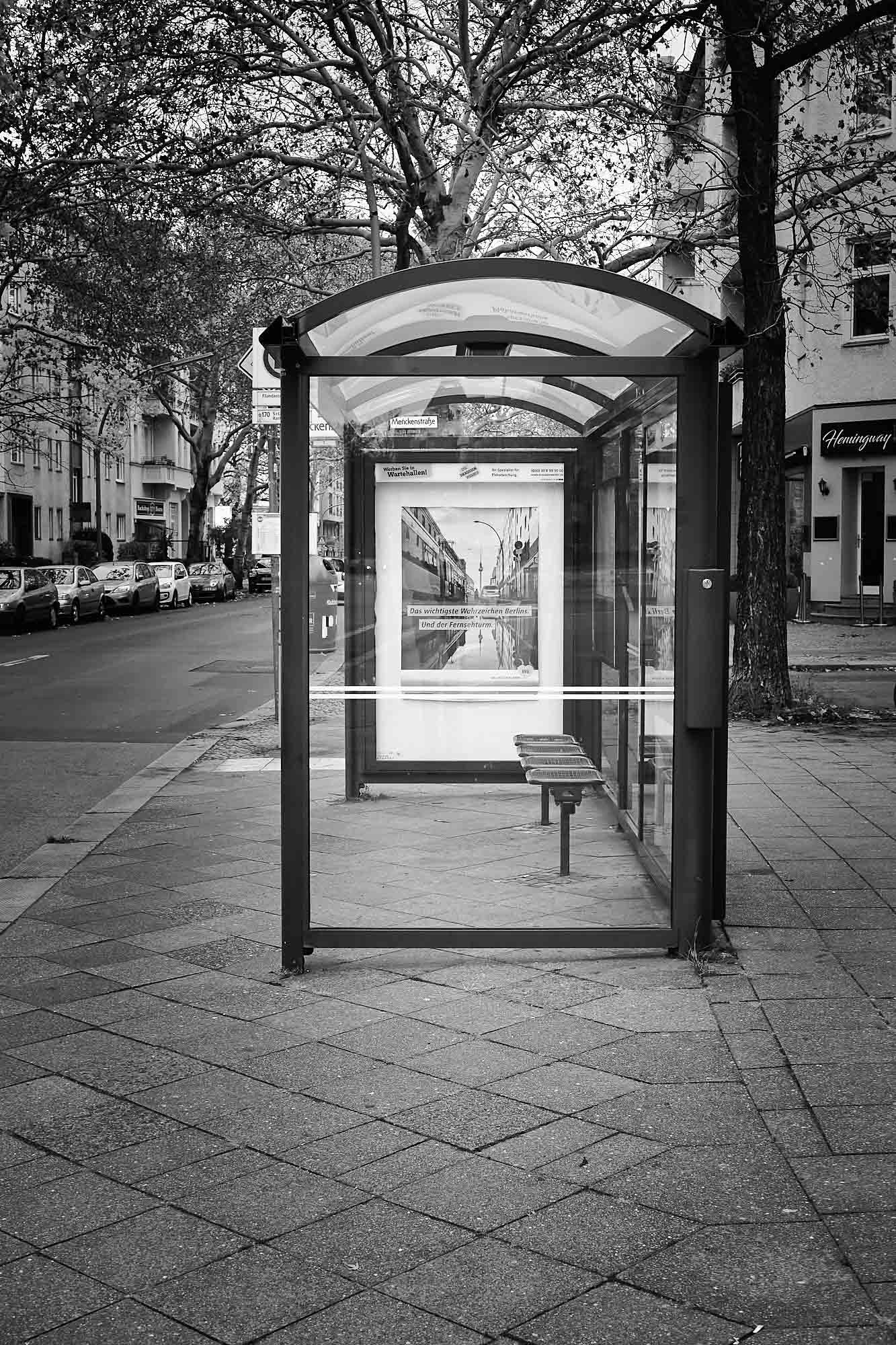 Photoauge / Wartehäuschen