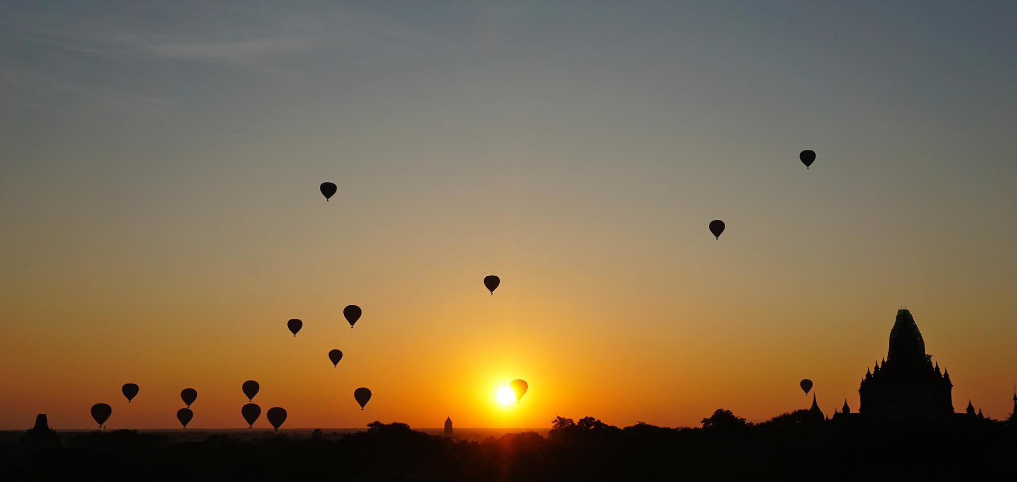 Morning Glory - Bagan