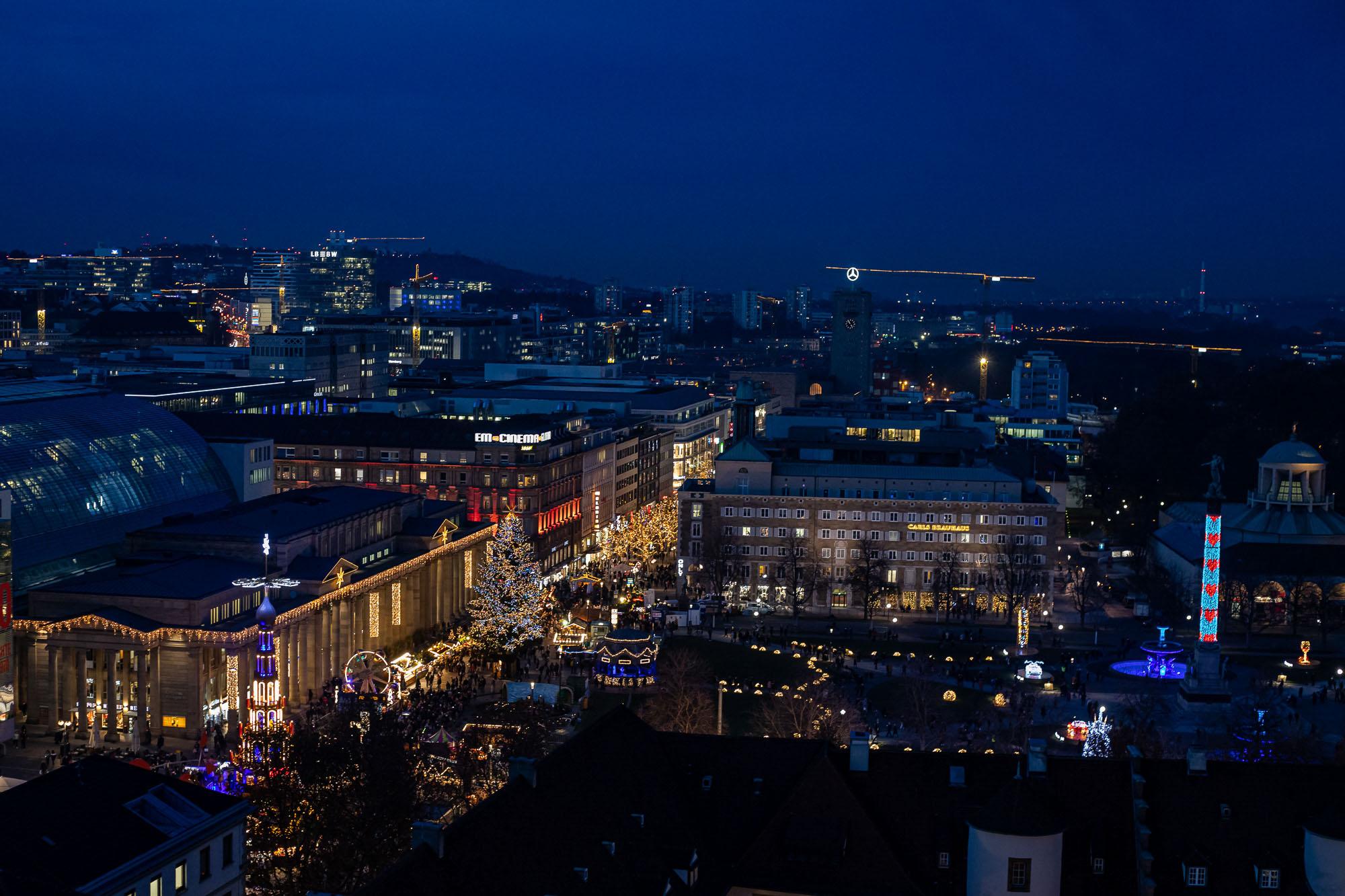 sonjahwolf / Weihnachtliches Stuttgart
