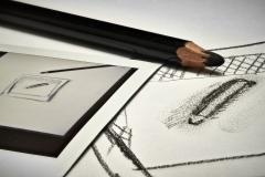 expresskasse / Stift im Bild mit Stift im Bild
