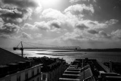 ollo / Blick von Chaido, Lissabon, auf den Tagus