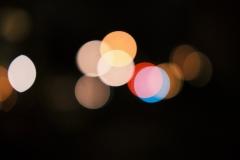 Photoauge / Lichtflecken