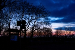 ollo / Sonnenuntergang am Winterende