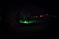 Filou in der Nacht