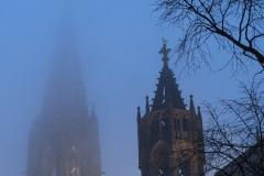Münsterturm im Dunst