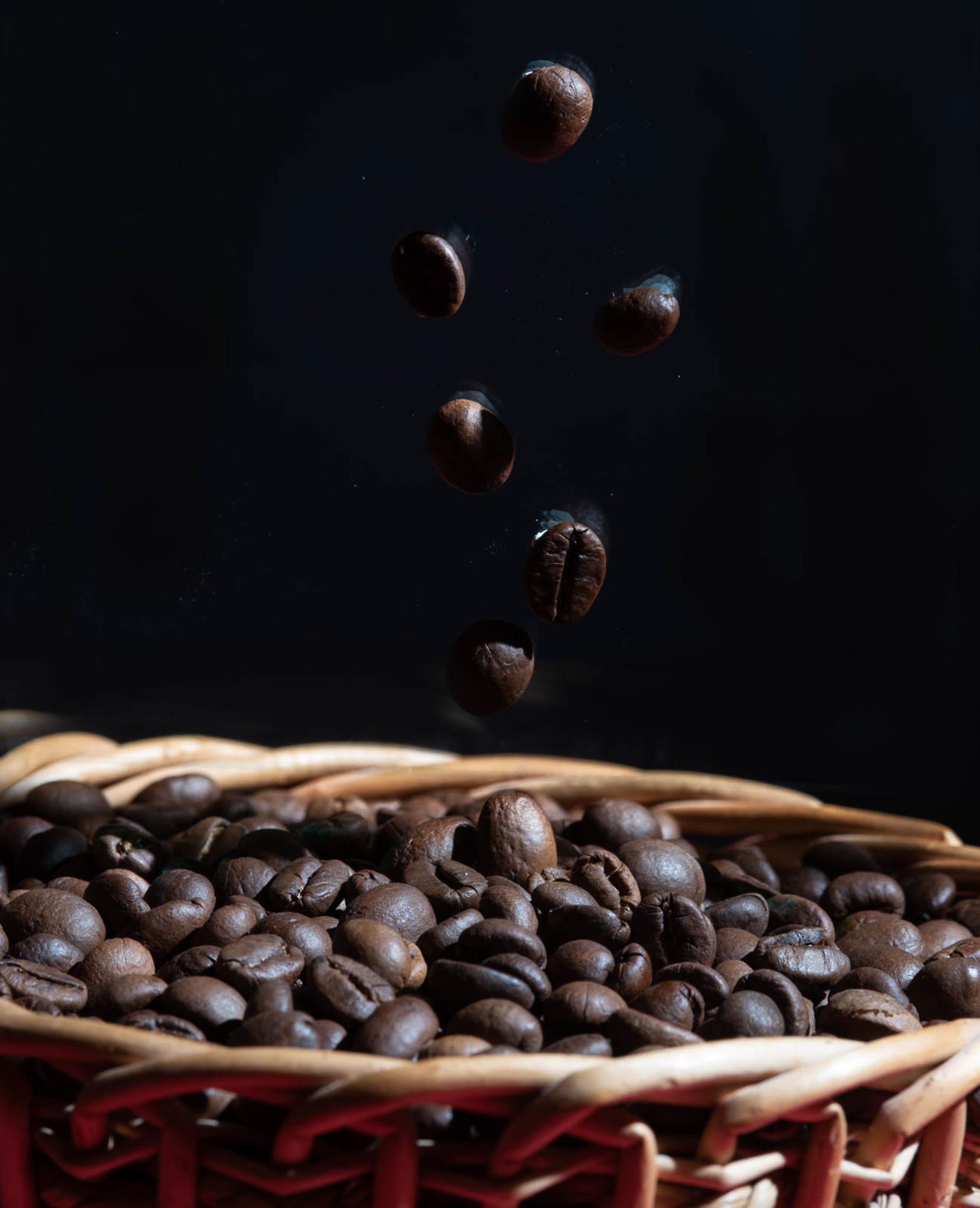 Kaffeebohnen hamstern