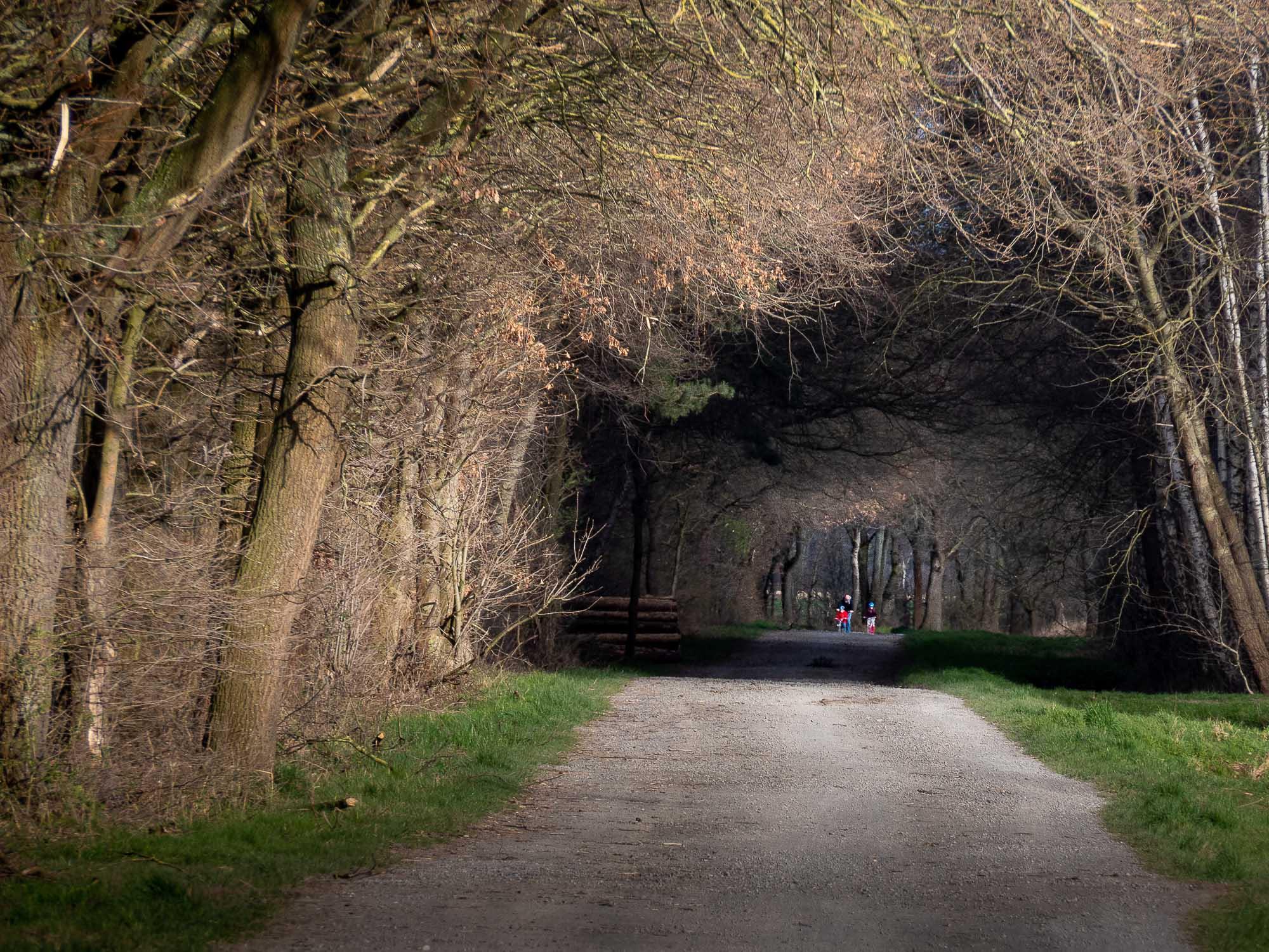 Hoffnung Licht am Ende des Tunnels