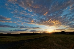 Sonnenuntergang im Westerwald
