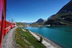 Ausflug mit der RhB - Bernina Pass