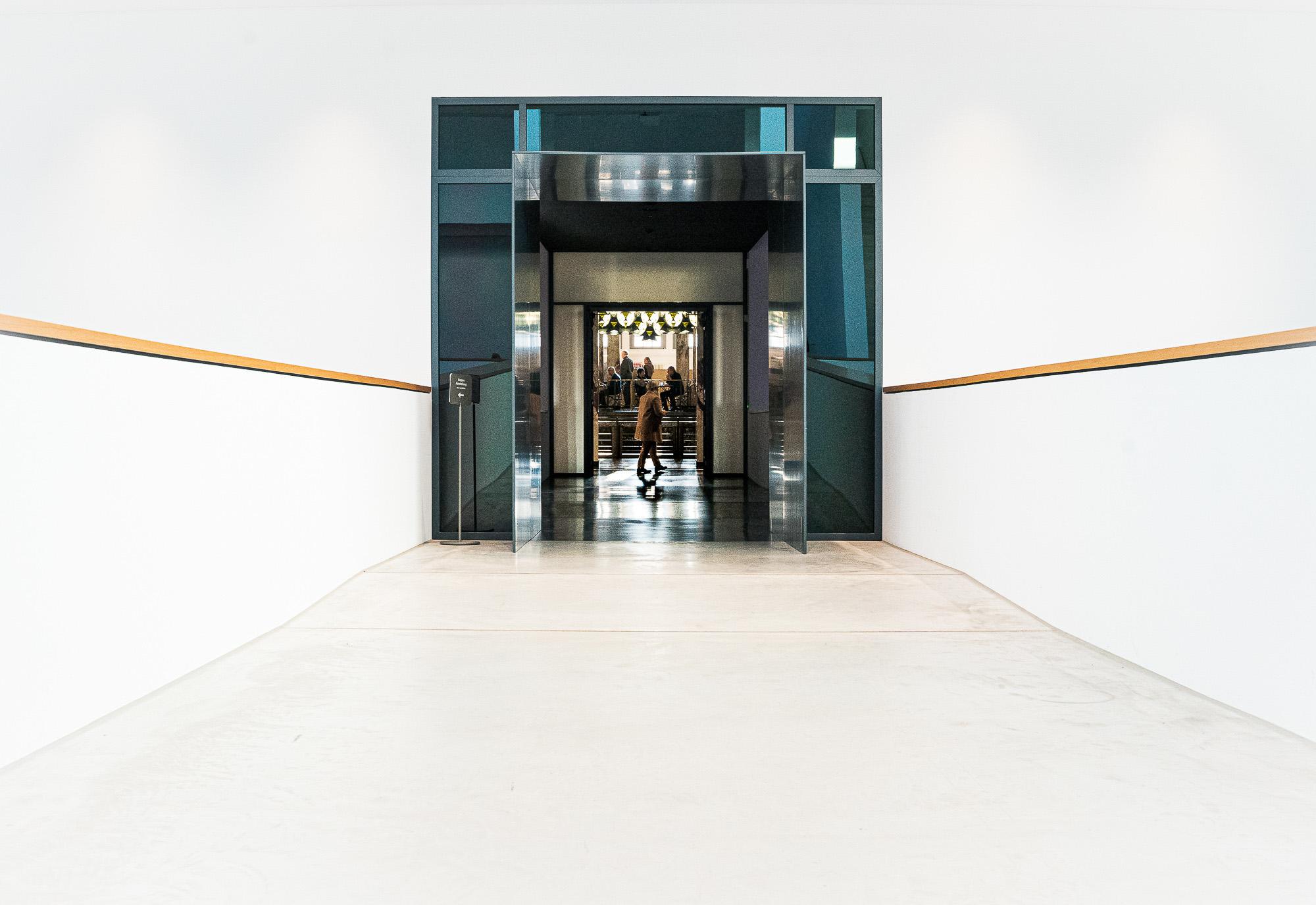 Kontrast:von der neuen in die alte Kunsthalle