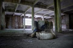 Der verlassene Sessel