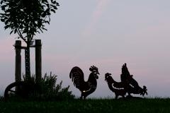 Fabians glückliche Hühner