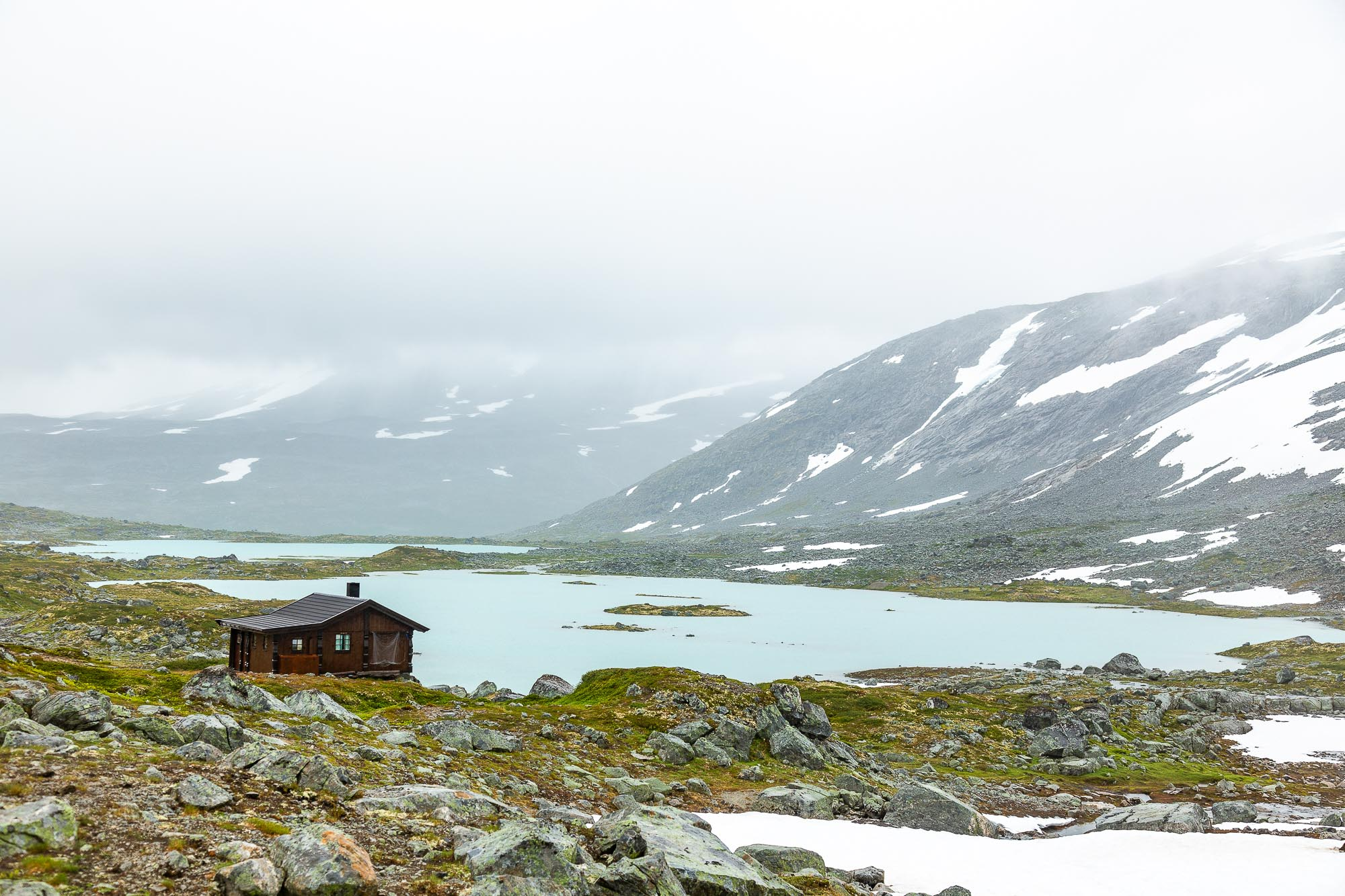 Norwegen in den Bergen