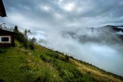 Morgen in den Bergen