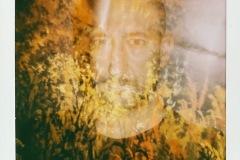 Selbstporträt mit Reh
