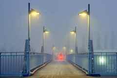 Auf dem Weg zur Arbeit - Nebel