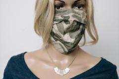 Lichtest mit Maske