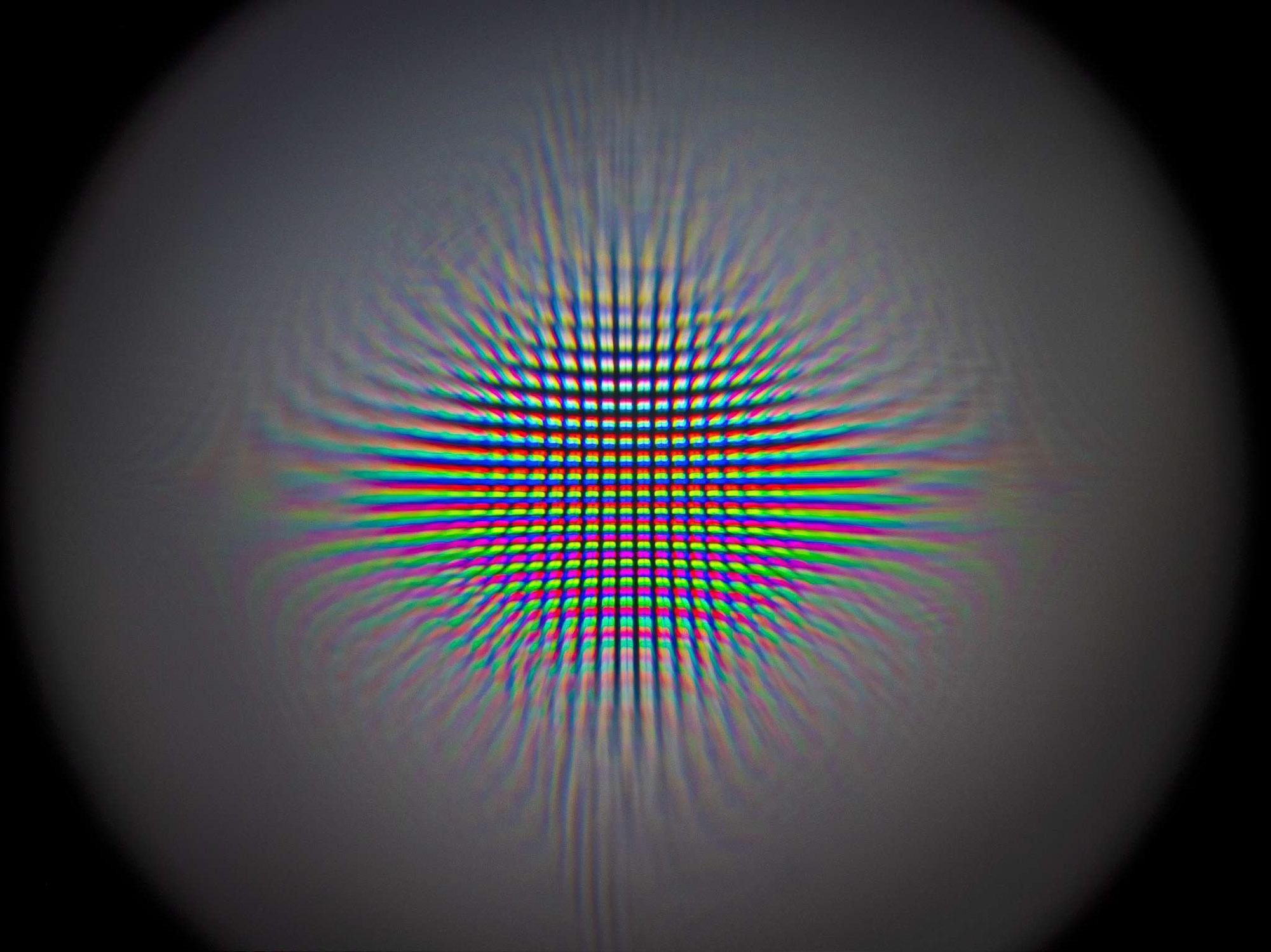 Crystal Ball Retina Display Pixel