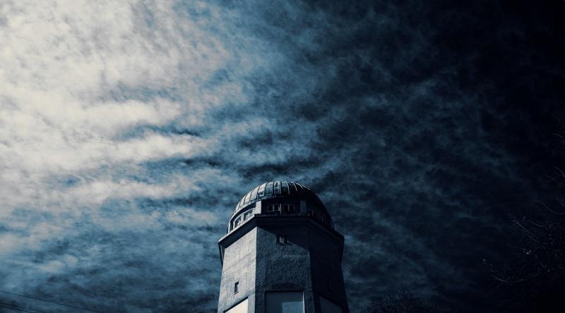 Der Himmel über Seckenheim.