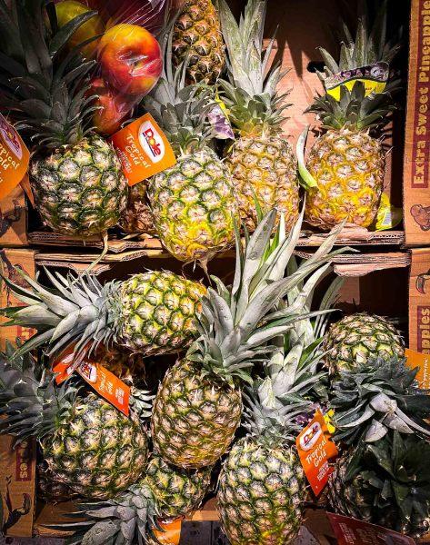 Ananas trifft Apfel