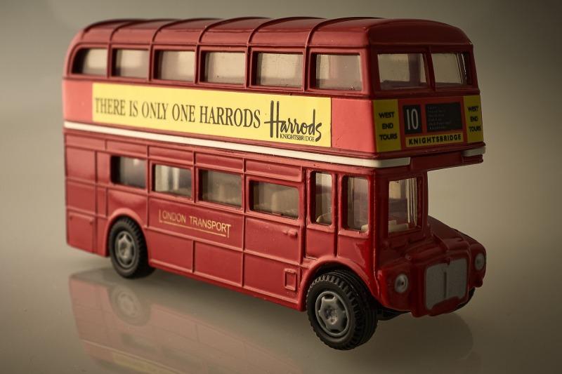 Der rote Bus