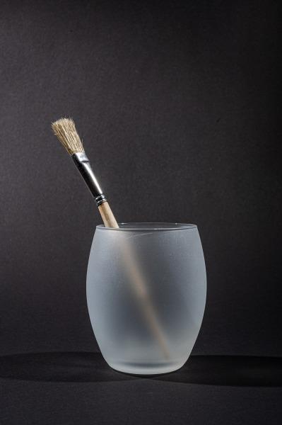 Pinsel im Glas