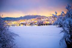 Wettswil im Schnee