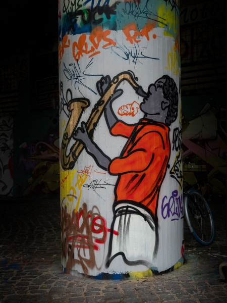 Graffiti Hannover Ihmezentrum