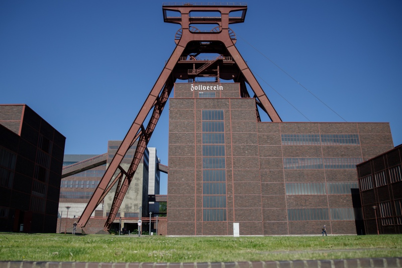 Zeche Zollverein - Förderturm