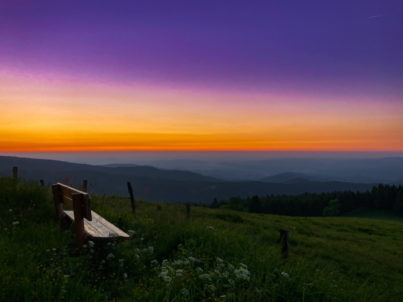 Sonnenaufgang - Guten Morgen