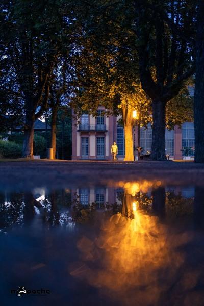 Nachts in der Orangerie