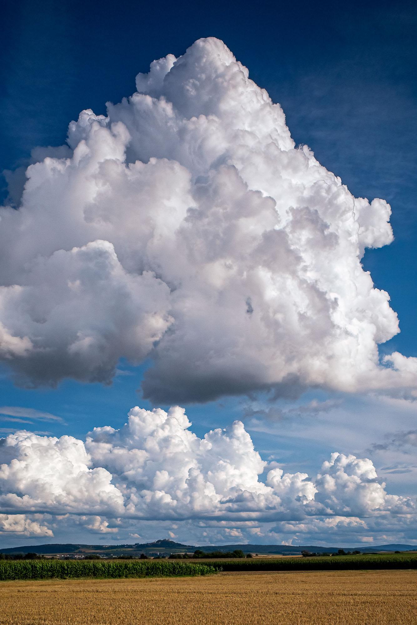 Wolken überm Otzberg