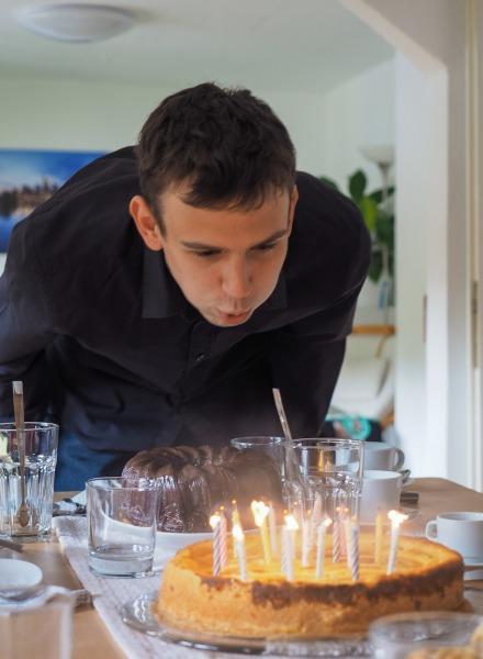 19.Geburtstag meines Sohn