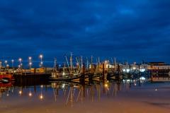 Norddeich Hafen bei Windstille