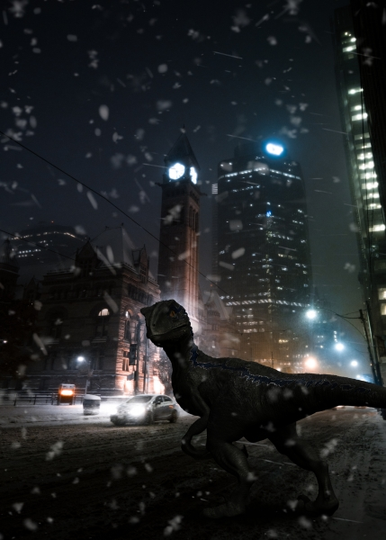 Raptor in the Streets - Composing