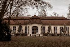 Orangerie Schlosspark Steyr im Coronaschlaf