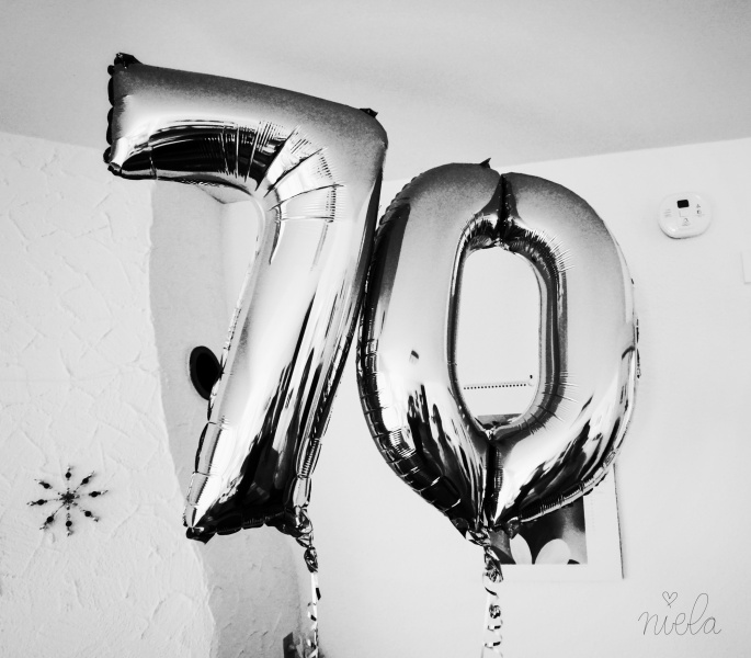 man wird nicht alle Tage 70