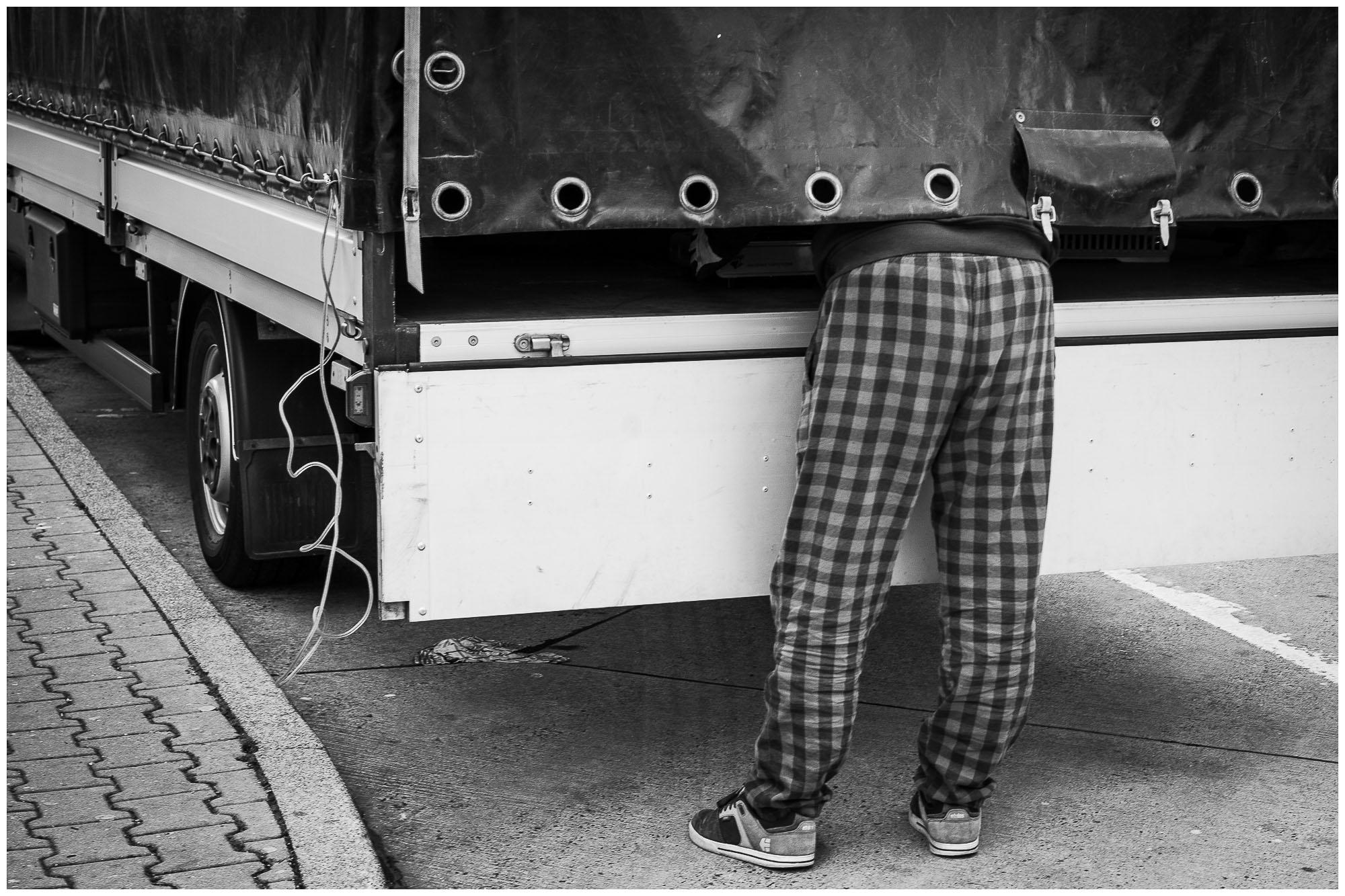 UnclePete / Kariertbehoster Trucker