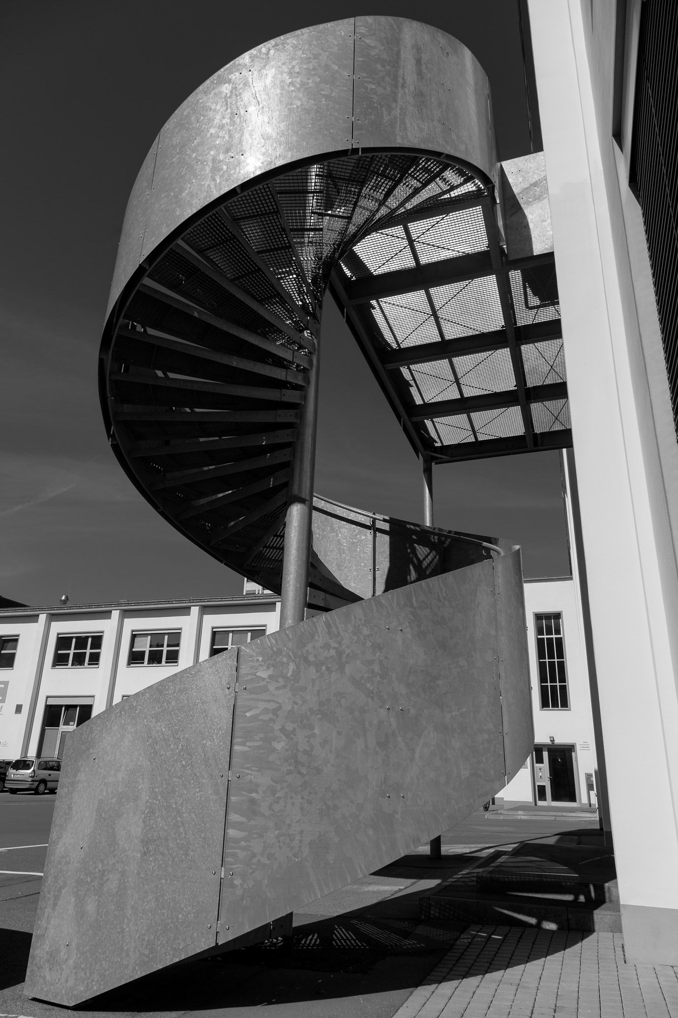 Cthulhusnet / spiral staircase