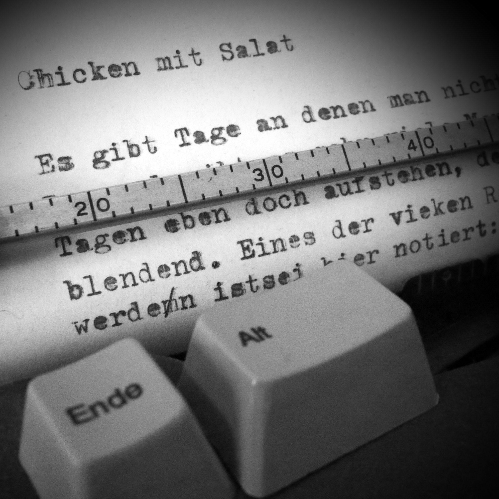 ylz / Chicken mit Salat