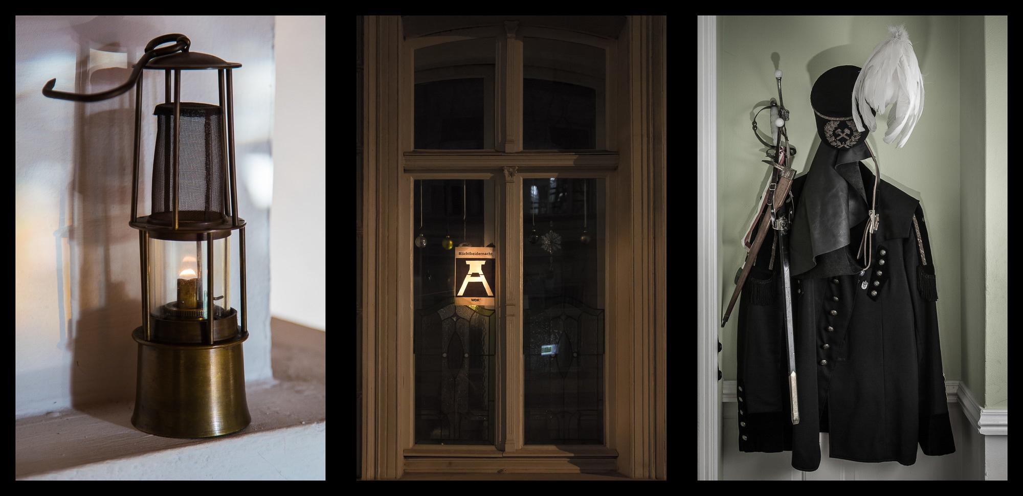 kamerakata / Bergbau-Triptychon